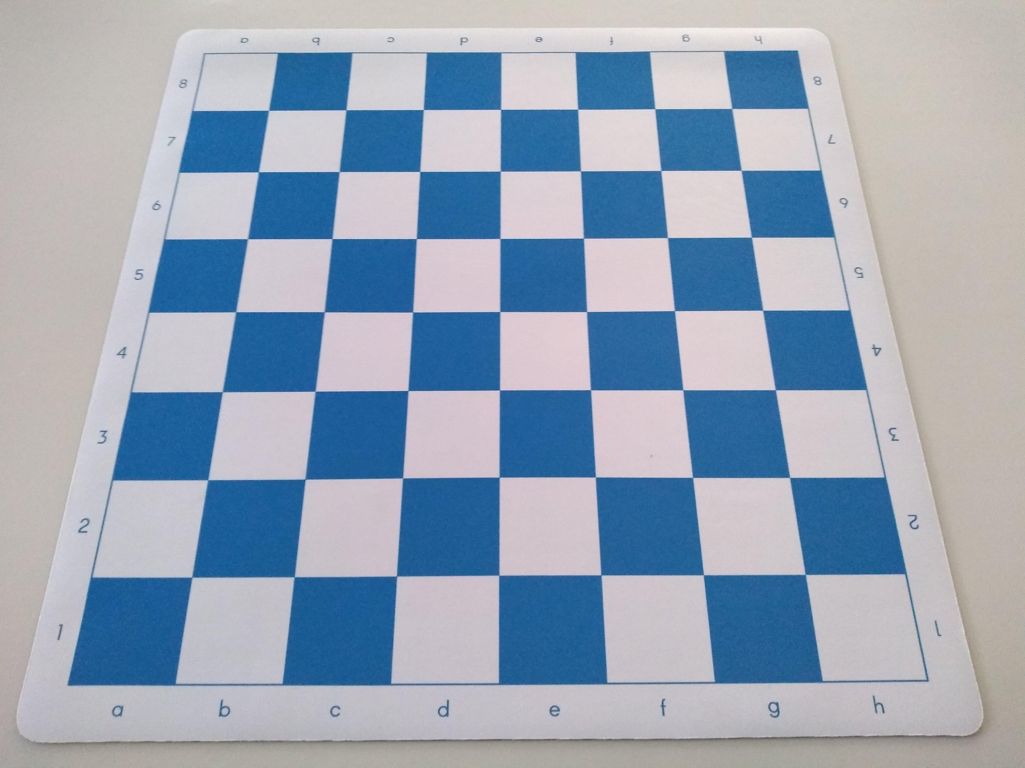 Mousepad Chess Board Navy