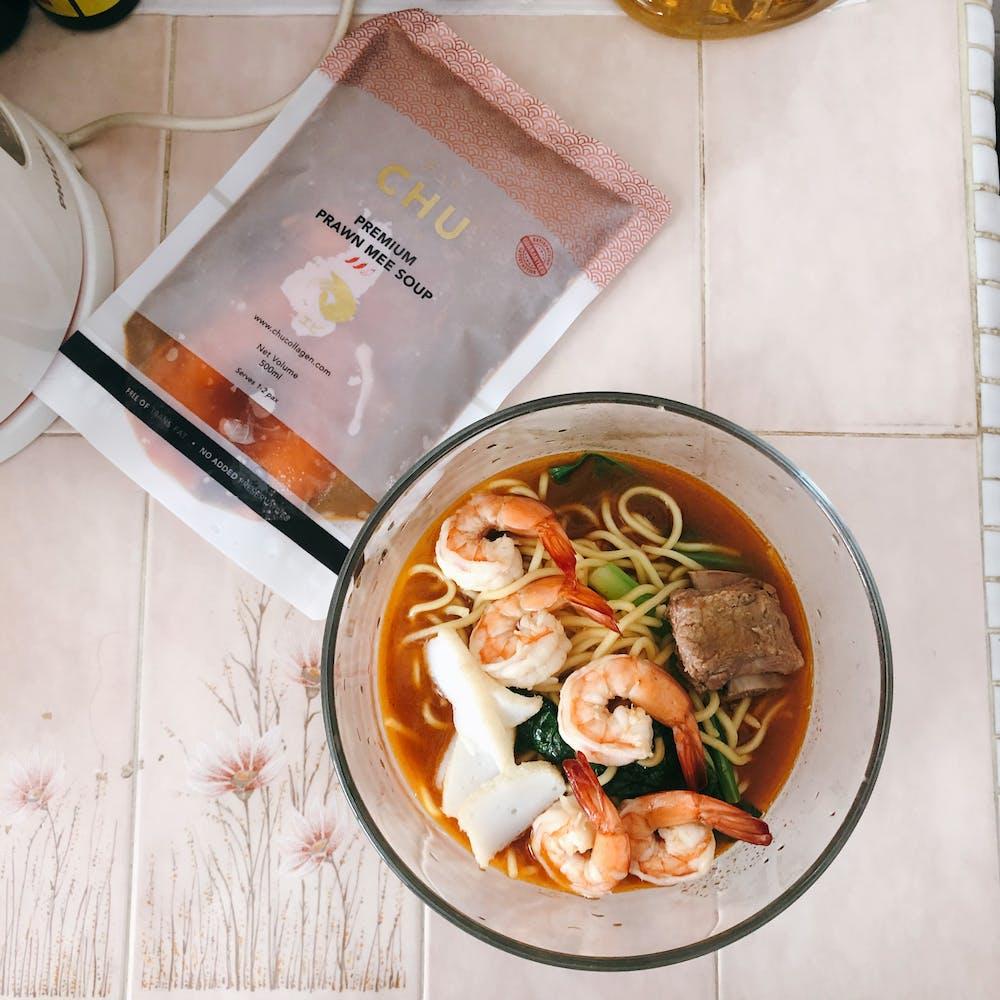 2-Litre bundle: Premium Prawn Mee Soup (2L)