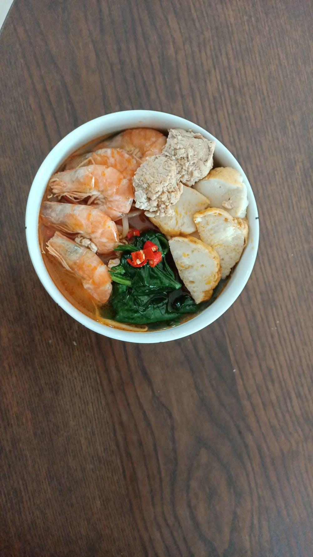Premium Prawn Mee Soup (1L)