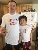 Shake & Bake (Matching Shirt Set)