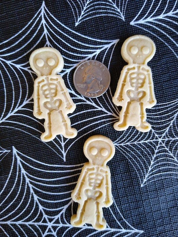 Skeleton Cookie Cutter   Stamp   Stencil #1