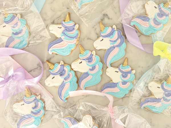 Unicorn Face Cookie Cutter  Stamp & Outline #3