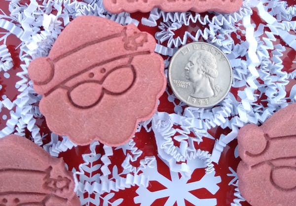 Santa Claus Face Cookie Cutter | Stamp | Stencil #1