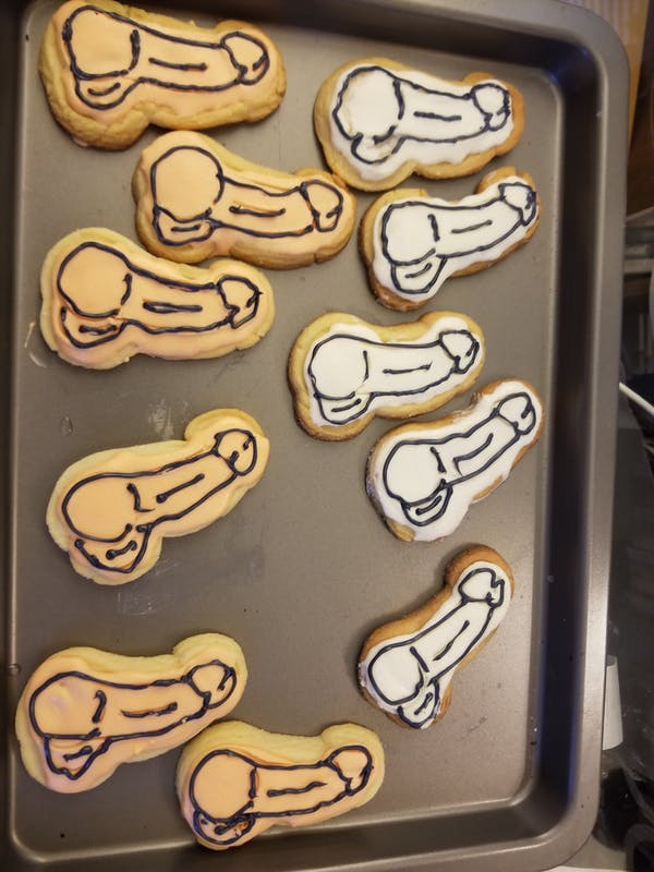 Penis Bachelorette Cookie Cutter | Stamp | Stencil #2