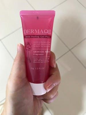 DERMA QII Mild Peeling Gel Plus DAMASK ROSE Fragrance