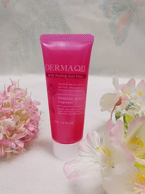 DERMA QII Mild Peeling Gel Plus DAMASK ROSE Fragrance