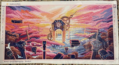Gate of Resurrection Diamond Painting Art Kit