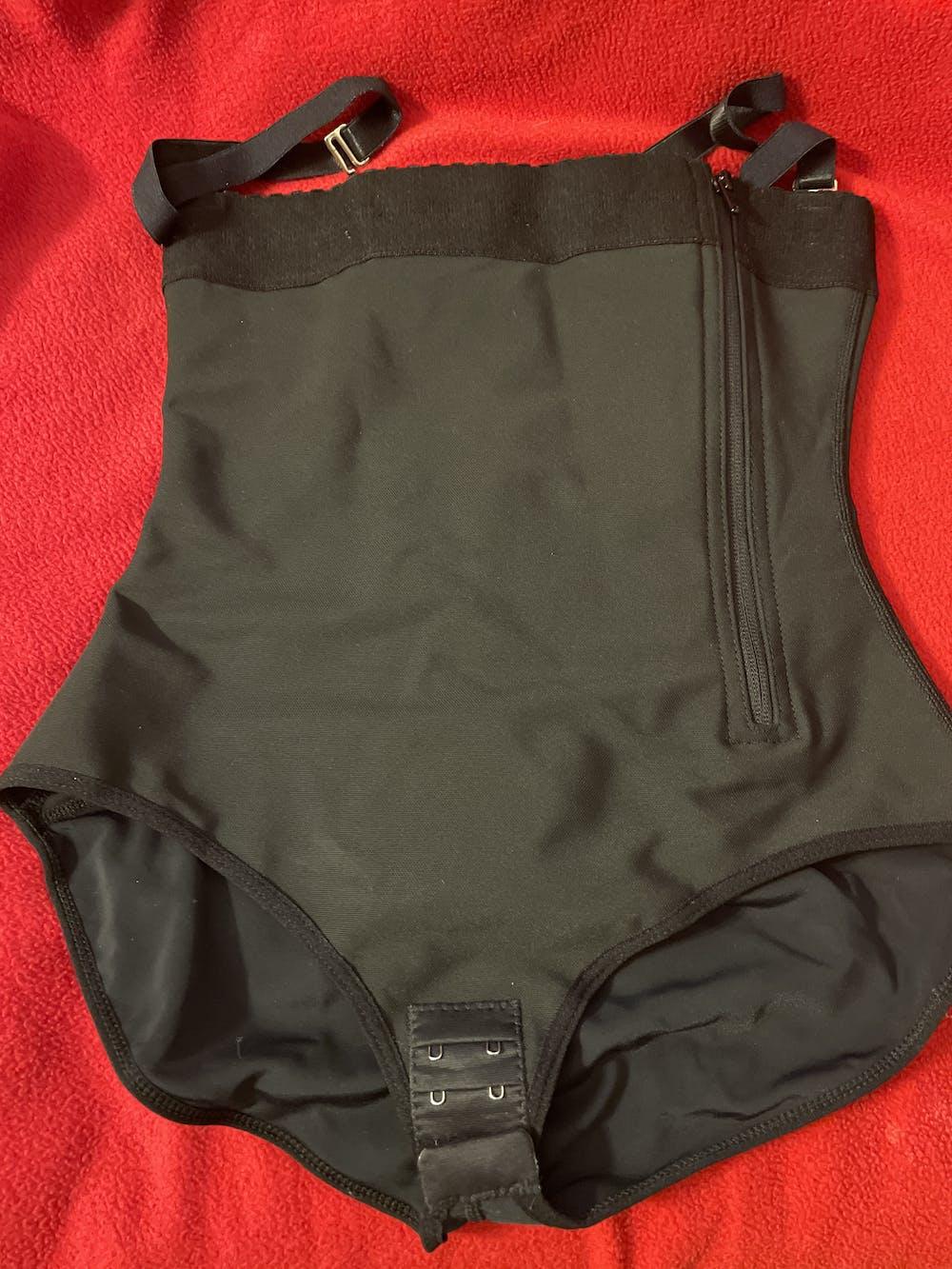 Powernet Strapless Zipper Faja Bodysuit - Panty