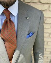 Custom Wood Lapel Pins and Cufflinks