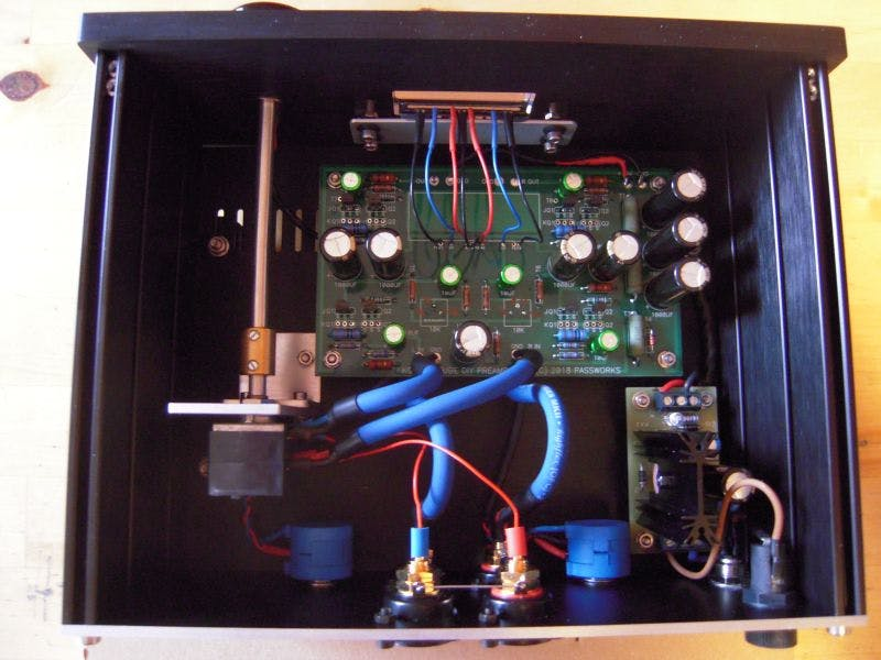 B1 Buffer with Korg Triode PCB + Fairchild JFETs