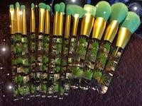 Tropical - 14 piece Makeup Brush Set
