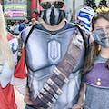 Steel Mandalorian Armor Shirt, Mandalorian Costume