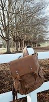 LATVIA <br> Waxed Canvas Backpack