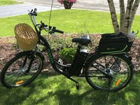 Electric Bike Nakto Camel 250W City Cruiser Women Bicycle - CLW26F001