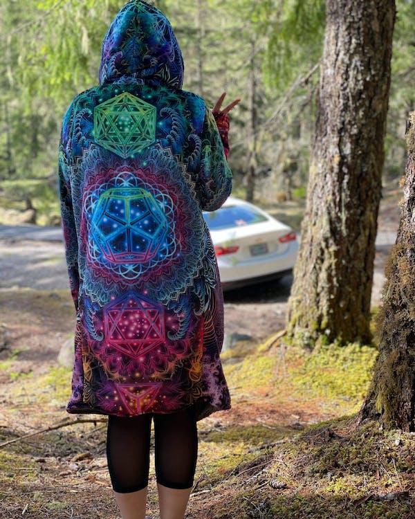 Platonic Mandala v2 Dream Cloak