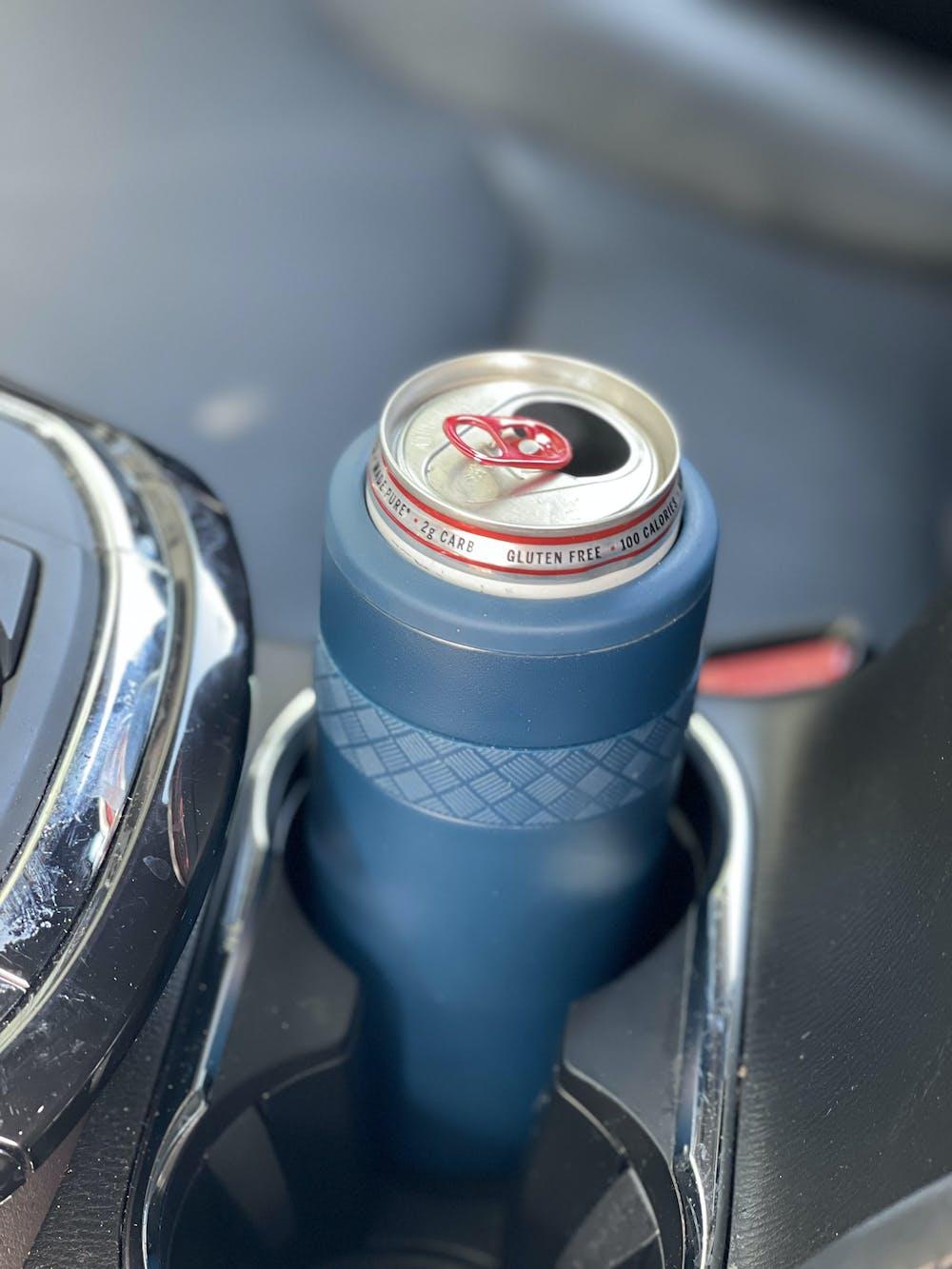 Recess 12oz Regular Can Cooler - Black