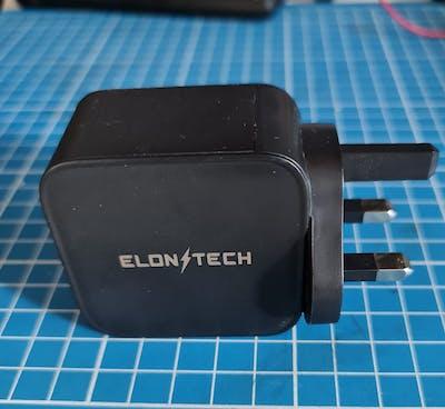 ElonXTech PowerBoost PD 65W GaN Power Adapter
