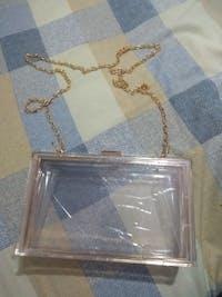 MINA Luxury Transparent Clutch