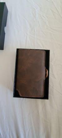 RFID Leather Business Credit Card Holder