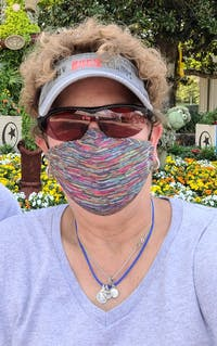 Active Tech Face Mask, Black