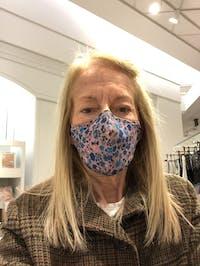 Artisanal Floral Face Mask