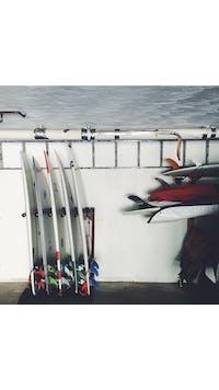 Finished Foamy Surf Rack