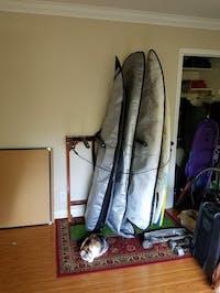 Finished Grassy Surf Rack