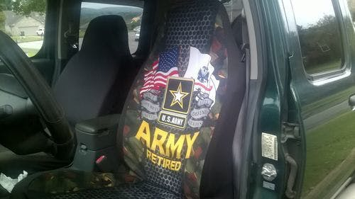 U.S Army Retired Car Seat Covers