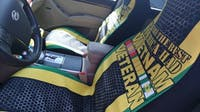 WE WERE THE BEST AMERICA HAD VIETNAM VETERAN CAR SEAT COVERS