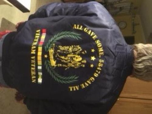 all gave some, 58479 gave all, Vietnam Veteran of America Over Print Jacket