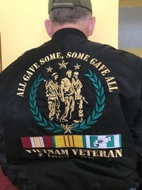 WE WERE THE BEST AMERICA HAD-VIETNAM VETERAN-  Vietnam Veterans of America - OVER PRINT JACKET