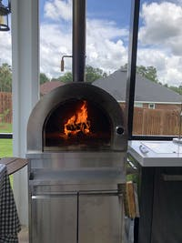 Thor Kitchen Pro-Style Outdoor Wood-Burning Pizza Oven (MK07SS304)