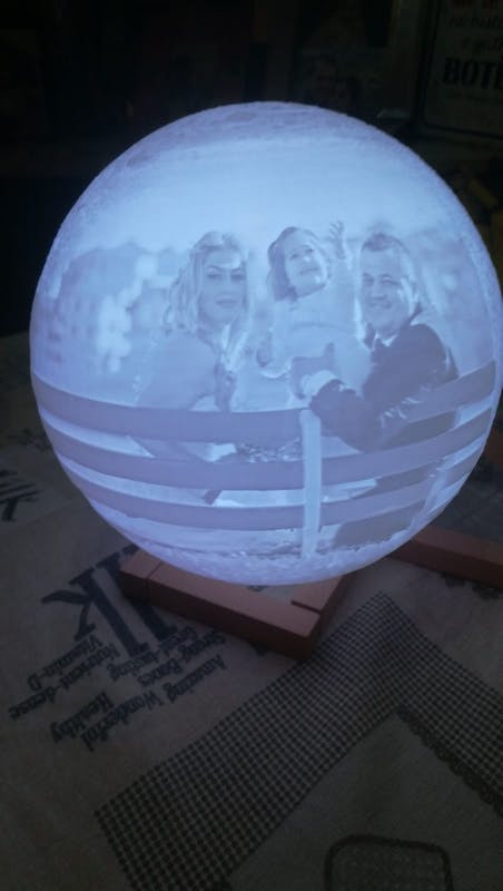 Personalized PHOTO 3D MOON LAMP