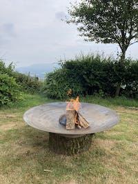 Adezz Forno Fire Pit 120cm in Corten Steel
