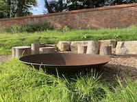 Adezz Forno Fire Pit 150cm in Corten Steel