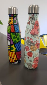 The Colourfull Stainless Steel Water Bottle Thermal 500ml