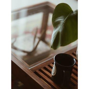 Morris Sheesham Wood Coffee Table