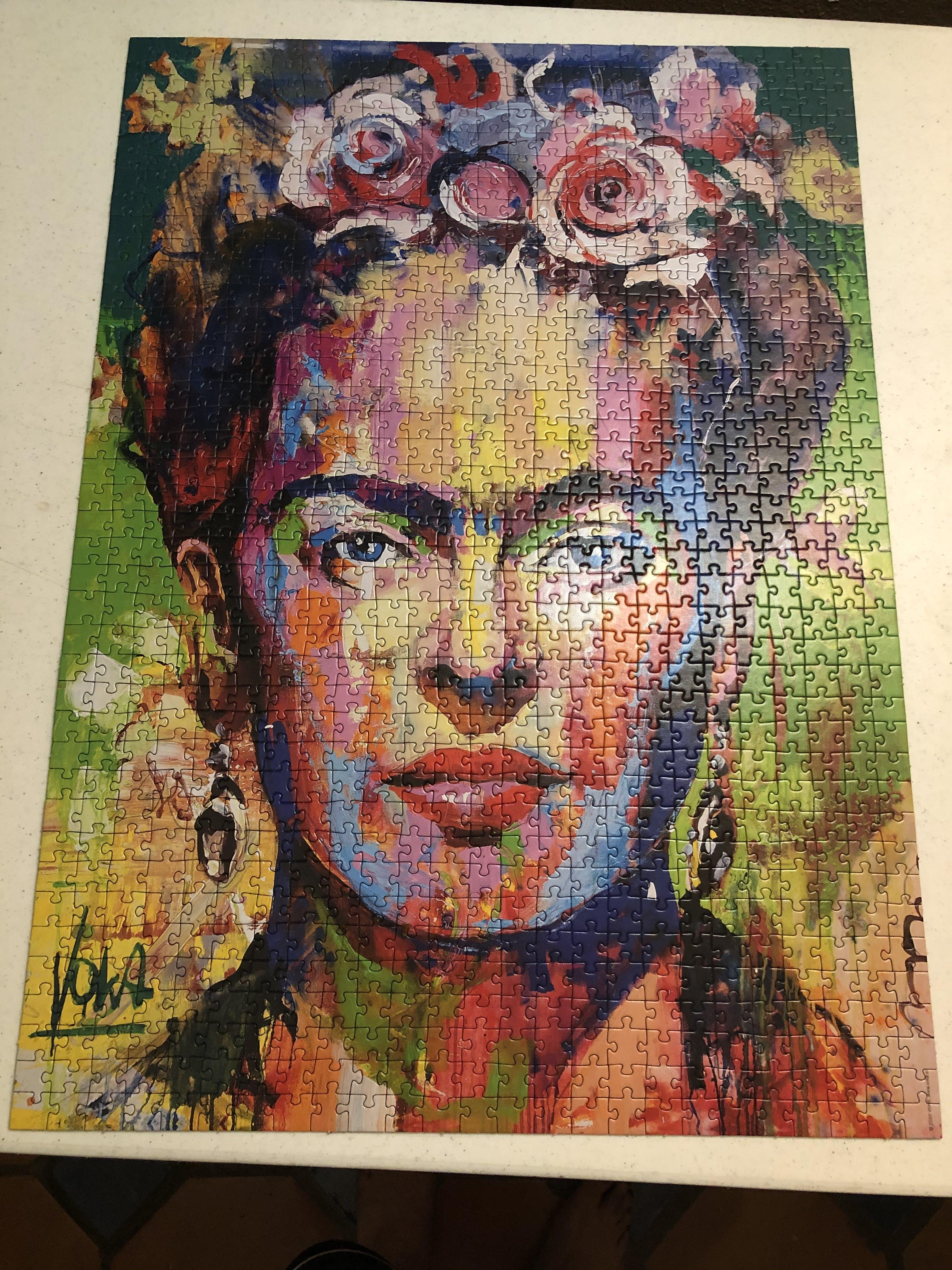 Frida 1000 Piece Puzzle Frida Puzzle Galaxy Puzzles