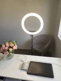 "14"" LED Glow Ring Light Set"