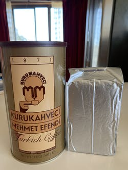 KuruKahveci Mehmet Efendi Turkish Coffee (500g)