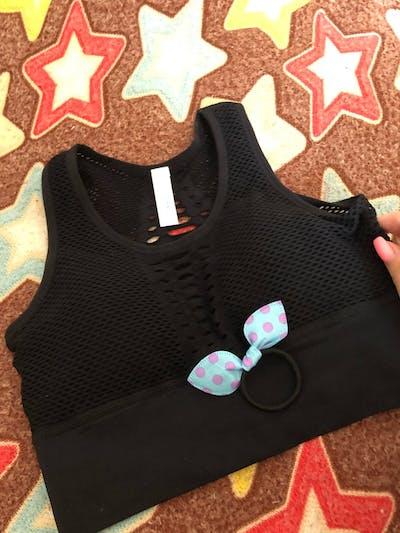 The Gladiator Sports Bra Vest