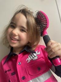 Original Happy Hair Brush - Fuchsia Pink