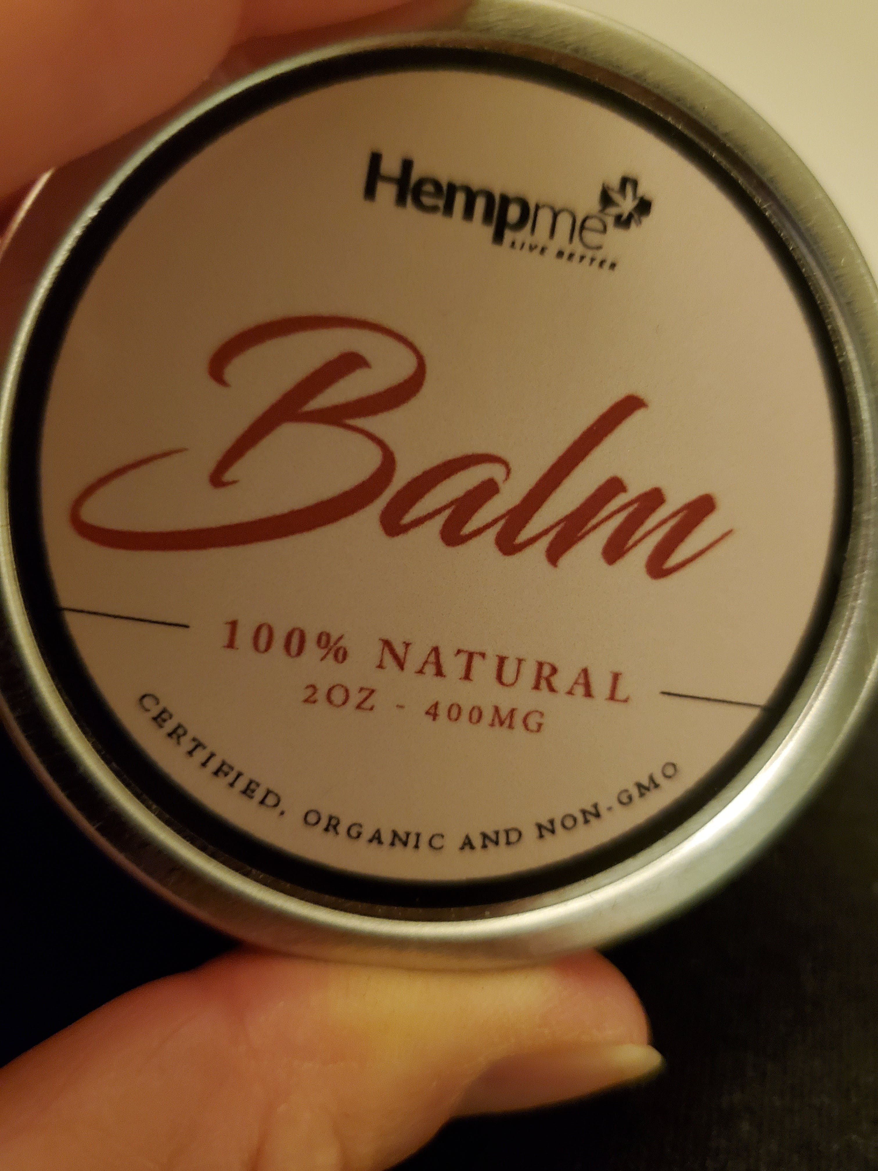Hemp Extract Balm-CF