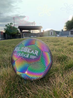 HoloGear™ Holographic Glowing Reflective Soccer Ball