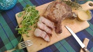 Dorobuta Free-Range Pork Bone-In Chops (1.1kg)