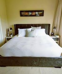 *NEW* Bed Frame (Super King, King, Queen) - Mayfair Velvet Charcoal