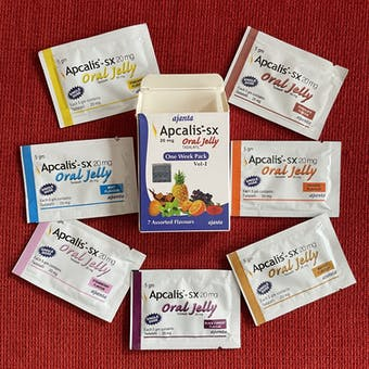 APCALIS GEL ORAL 20 mg, Tadalafilo