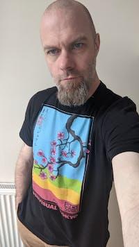 Sakura Super-Visual - Vaporwave T-Shirt