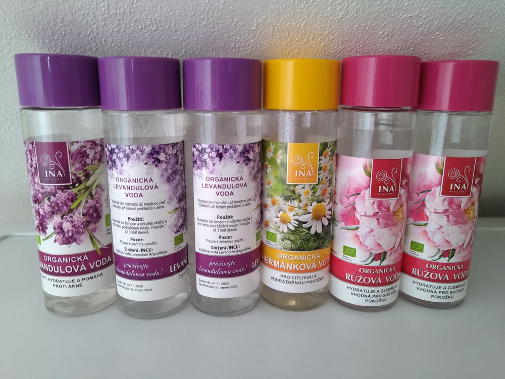 Organická Levandulová voda - proti akné a mastné pokožce (200ml)