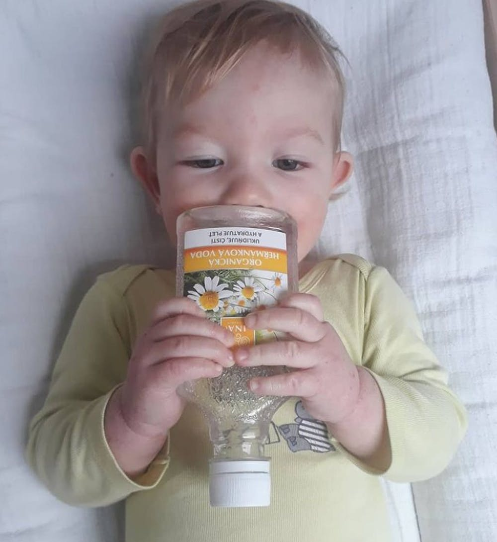 Acqua alla camomilla Bio per eczemi e pelli irritate (200ml)